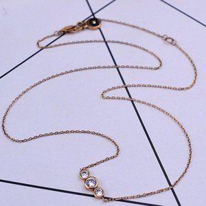 💖Michael Kors Single Row Diamond Necklace